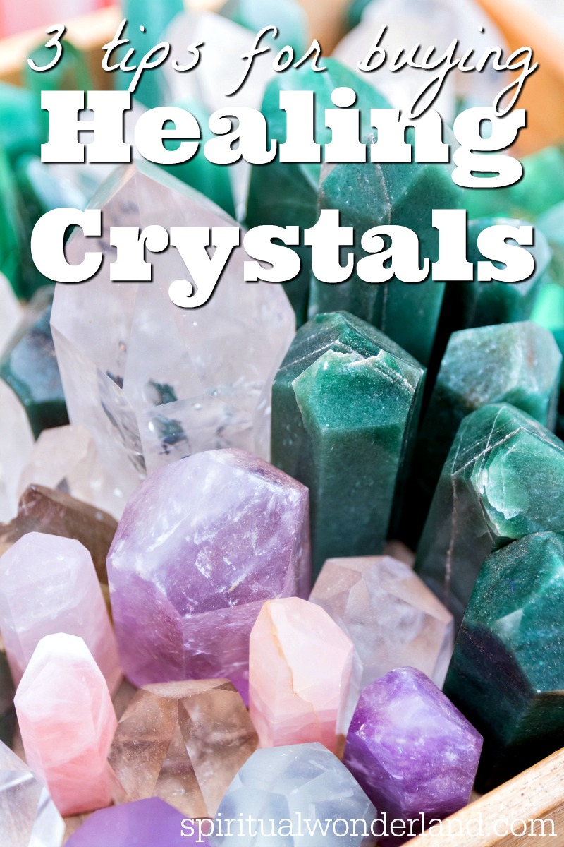 Crystals are a wonderful addition to any natural wellness routine. If you want to choose crystals that will support your health, here are 3 tips for buying healing crystals.