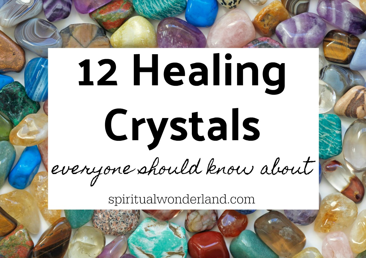 Healing crystals are becoming more popular as our collective consciousness grows. If you're looking for info on crystal collecting for beginners, check out this list of 12 healing crystals everyone should learn how to use.